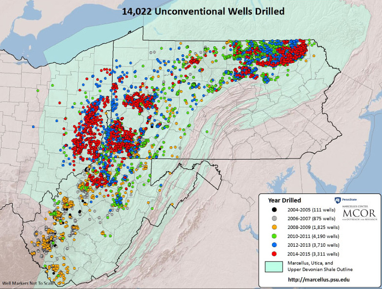 Marcellus & Utica Shale – Activity On The Rise | Black Diamond Realty