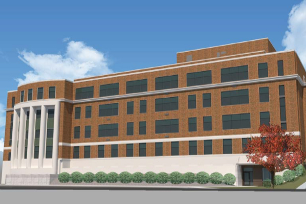 Artist rendering of Hodges Hall