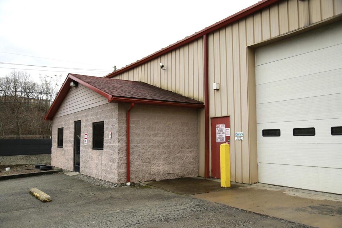 Exterior Office Entrance